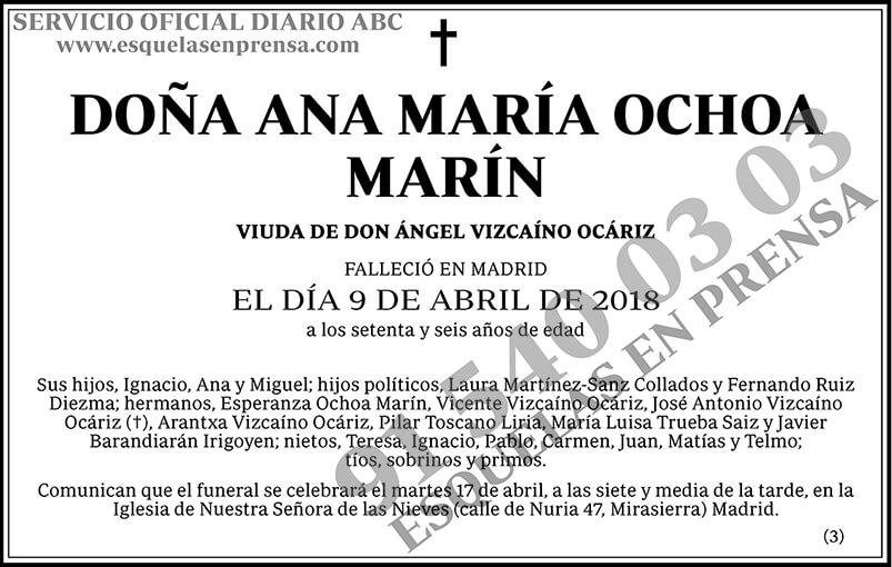 Ana María Ochoa Marín